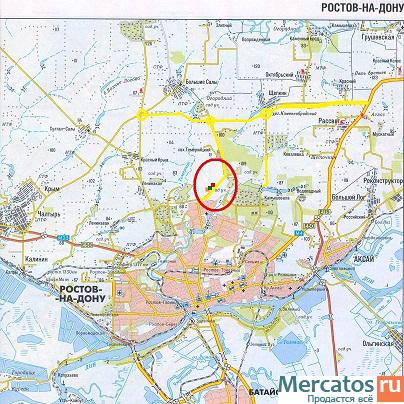 Продается земельный участок 16 Га под ТРК район АШАНа Ростов-на-Дону.