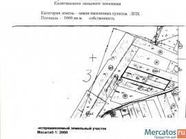 Участок 30 сот. ЛПХ в д.Лисино Волосовский район