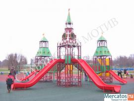 Игровой комплекс. Детский спортивно-игровой комплекс «Кремль»