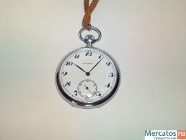 Карманные Швейцарские часы Eterna 1920г. Оригинал!