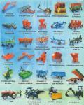 Навесное и прицепное оборудование для тракторов от 12 до 80 л.с.