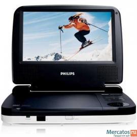 Портативный DVD-плеер Philips PET716 продаю 2