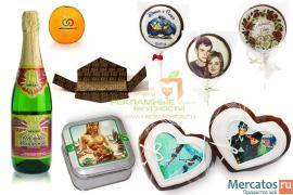 Свадебные сувениры, подарки молодоженам, гостям