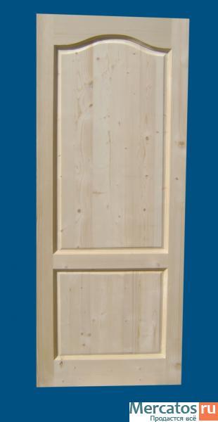 дверь глухая филенчатая входная на дачу массив дуба для дачи