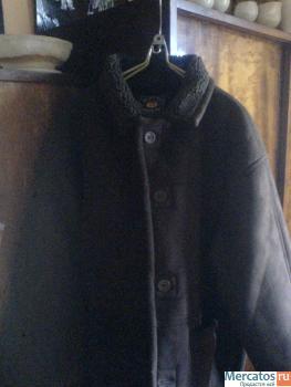 Новая зимняя мужская дублёнка, размер 52-54 Москва.