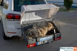 Багажник для животных (аксессуар для фаркопа) 4