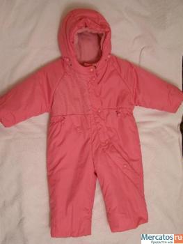 Продам детский комбинезон зима, подкладка - натуральный мех, рост 80 (фактически 86-92). В комплекте пинетки на