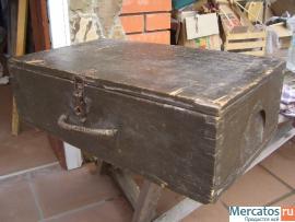 Ящик немецкий для снарядов (военный антиквариат)