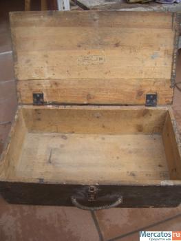 Ящик немецкий для снарядов (военный антиквариат) 2