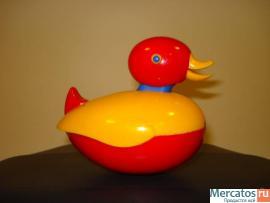 """Игрушка """"Уточка"""" для купания, фирма Tolo"""