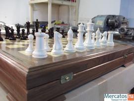 Шахматы ( бивень мамонта )