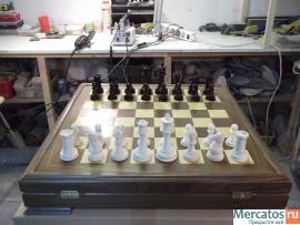Шахматы ( бивень мамонта ) 2