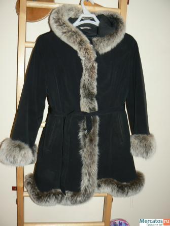 Продам пальто на кроличьей подстежке размер 44-46, б/у, отличное...