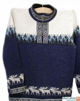 мужские вязаные свитера со схемами.