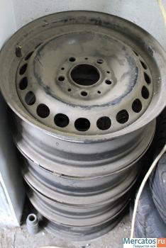 диски стальные для БМВ Е36 комплект