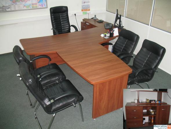 Рис 37249 - продается офисная мебель, в отличном