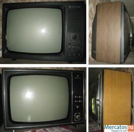 """Продам черно-белые телевизоры: """"Рекорд-в312 """"и  """"Рекорд-350 """" диагональ 48см.Год выпуска 1990г.В рабочем состо."""