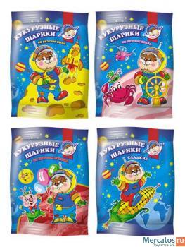 Кукурузные шарики: сладкие и с различными вкусами