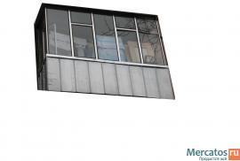 Остекление балкона и лоджии Брянск.