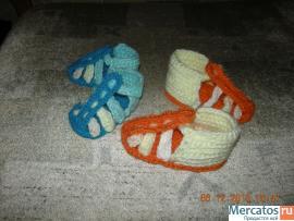 Пинетки-сандалии