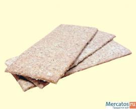 Цельнозерновые Хлебцы из пророщенной пшеницы