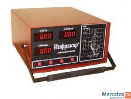 Газоанализатор ИНФРАКАР 08.01. Цена 13500 руб.