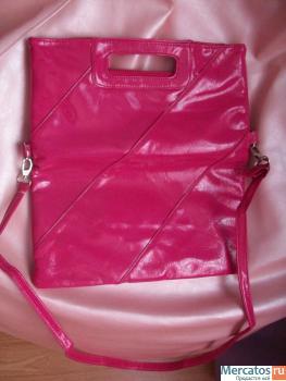 Дамская сумка клатч, розовый Москва.