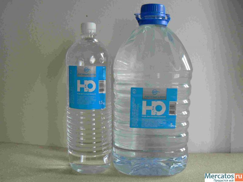 Вода дистиллированная  lavrru