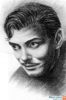 Нарисую портрет с фотографии 4