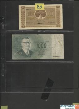 Продам бумажные деньги 9