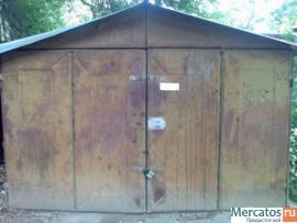 Продаю металлический гараж с ямой и подвалом