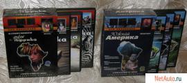 """Подар. изд. док. ф-ов BBC """"Дикая Африка"""" (3 DVD) и """"Южная Америк"""