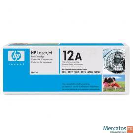 Картридж Hewlett-Packard Q2612A для HP 1010/1012/1015/3015/3020/