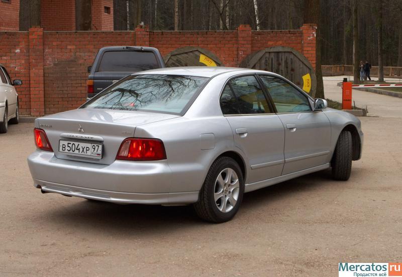 ����������� �� ������� ��������� Galant 2002