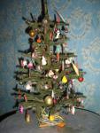 немецкая елочка с игрушками