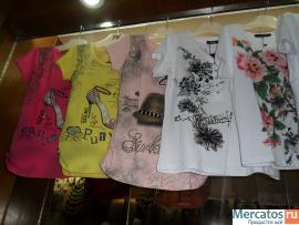 Брендовые женские футболки