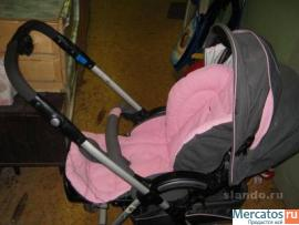 Продам прогулочную коляску розовую Capella 709.  5.