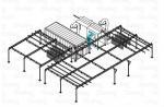 Производство окрасочной камеры напыления, камеры полимеризации (печи оплавления), транспортных систем.