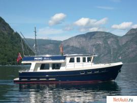 Стальные моторные яхты из Голландии.