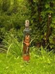 Парковые (усадебные) деревянные скульптуры.