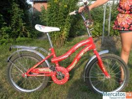 Велосипед для ребенка 7-10 лет. Цена 1800 рублей. 2