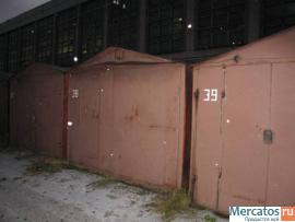 Металлический гараж в хорошем состоянии