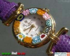 итальянские часы, сувениры, бижутерия из муранского стекла