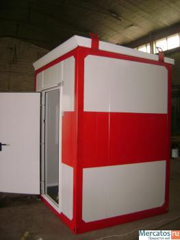 Блок-контейнер, модульное здание, сэндвич-панели