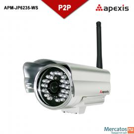 Apexis IP camera APM-JP6235-WS IR-CUT Plug and Play