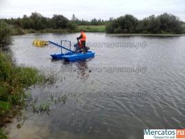 Миниземснаряд юнга для очистки водоёмов