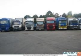 Стоянка грузовых автомобилей и спецтехники