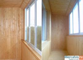 Пластиковые окна - остекление и отделка балконов!