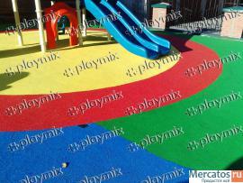 Мобильный комплекс Playmix для производства резиновых покрытий