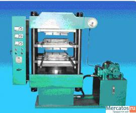 Пресс 2х-этажный для производства резиновой плитки